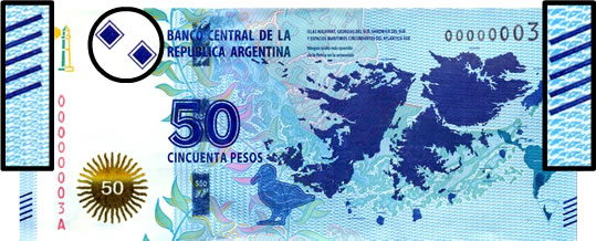 Anverso billete 3