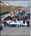 Protestas al sur