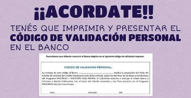 Anses C Digo De Validaci N Personal Procrear Econoblog