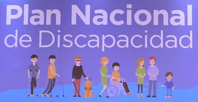 Resultado de imagen para PLAN NACIONAL DE DISCAPACIDAD