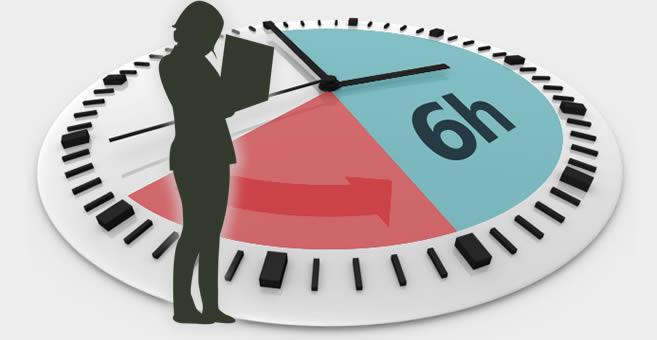 ¿Reducción de jornada laboral a 6 horas diarias? – EconoBlog
